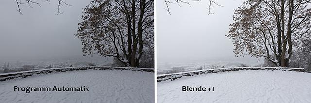 Blende +1